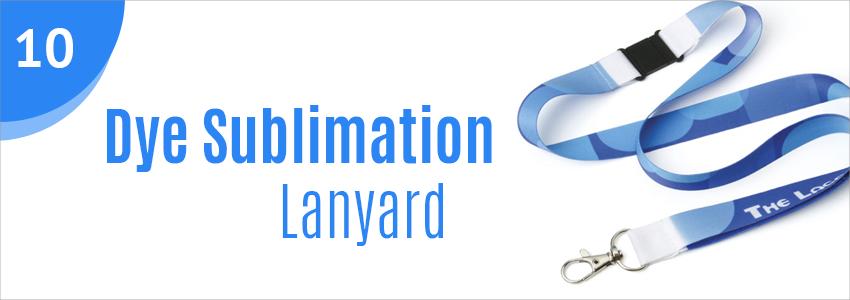 Promotional lanyard