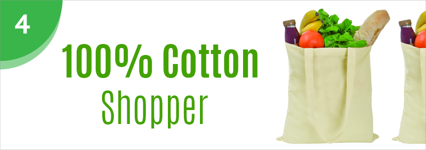 Promotional cotton shopper