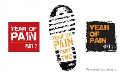 Charity Logo: YEAR OF PAIN