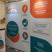 Best Insurance Exhibition Stand