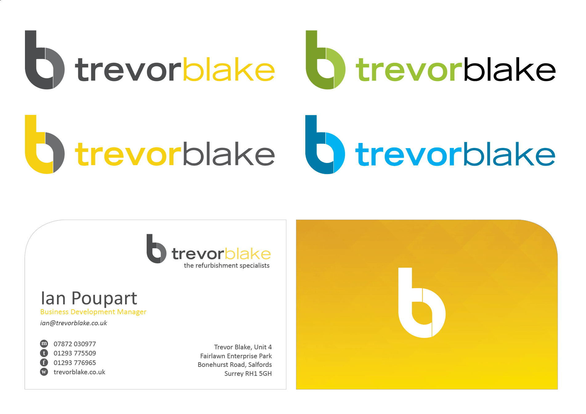 Trevor Blake rebrand