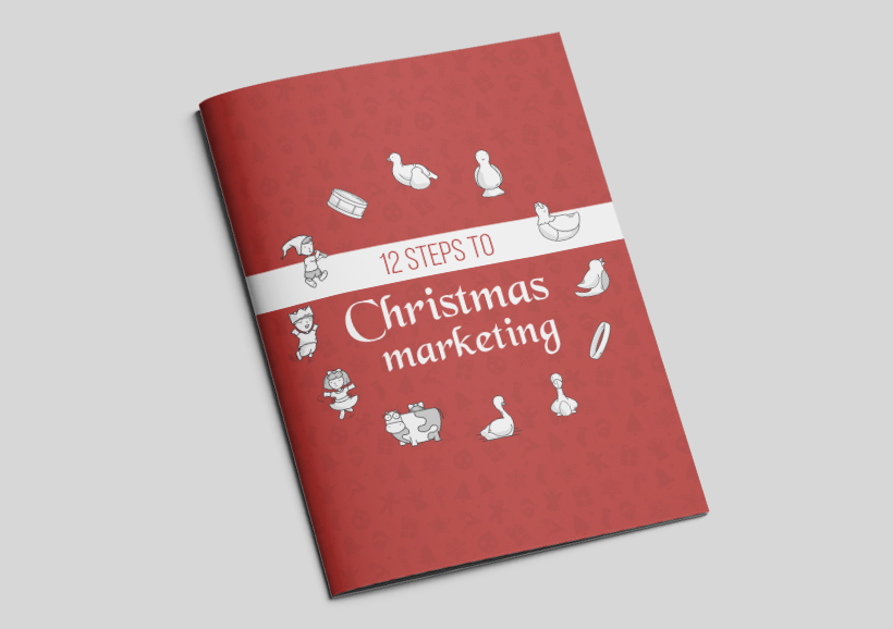 12 Steps to Christmas Marketing mock up for website