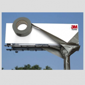 Creative outdoor advert solution