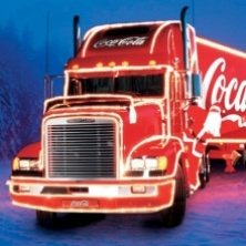 christmas truck wallpaper
