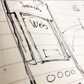 Nexus design & print sketch