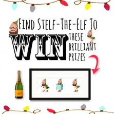 Find Stelf the elf competition prize