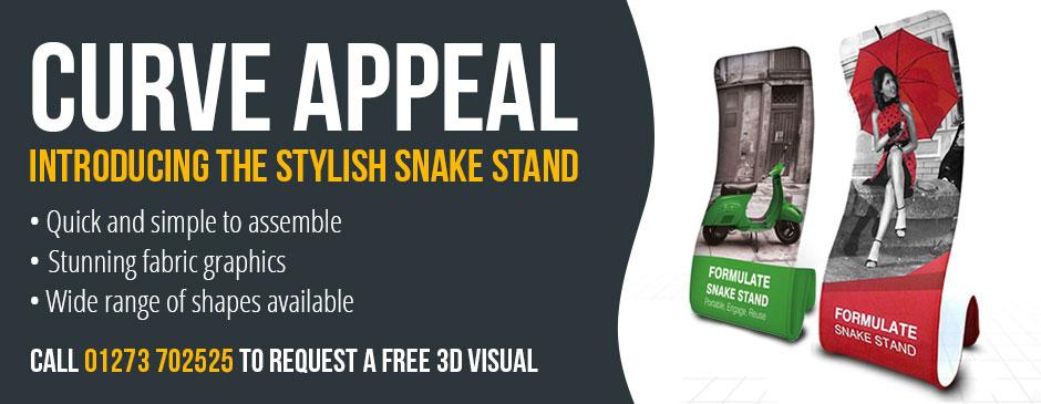 Snake Stand Banner